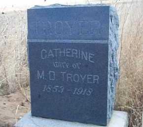 TROYER, CATHERINE - Elbert County, Colorado | CATHERINE TROYER - Colorado Gravestone Photos