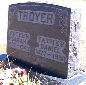 TROYER, SARAH - Elbert County, Colorado | SARAH TROYER - Colorado Gravestone Photos
