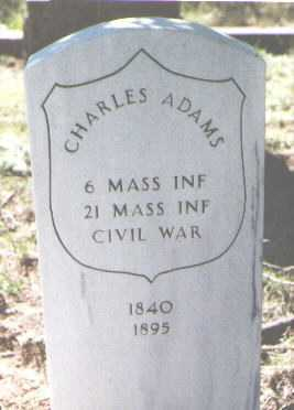 ADAMS, CHARLES - El Paso County, Colorado | CHARLES ADAMS - Colorado Gravestone Photos