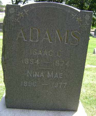 ADAMS, NINA MAE - El Paso County, Colorado | NINA MAE ADAMS - Colorado Gravestone Photos