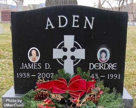 ADEN, JAMES D. - El Paso County, Colorado | JAMES D. ADEN - Colorado Gravestone Photos