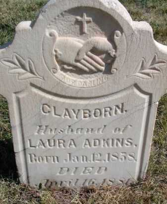ADKINS, CLAYBORN - El Paso County, Colorado | CLAYBORN ADKINS - Colorado Gravestone Photos
