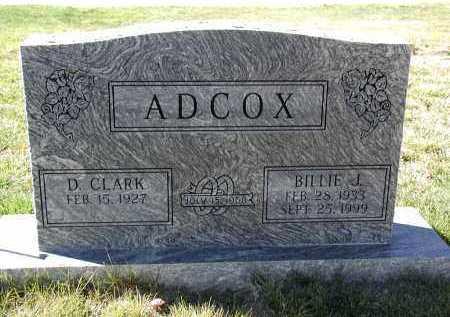 ADOX, BILLIE J. - El Paso County, Colorado | BILLIE J. ADOX - Colorado Gravestone Photos