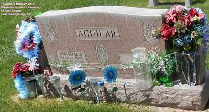 AGUILAR, ANNAMARIA - El Paso County, Colorado   ANNAMARIA AGUILAR - Colorado Gravestone Photos