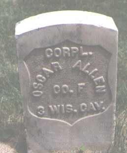 ALLEN, OSCAR - El Paso County, Colorado   OSCAR ALLEN - Colorado Gravestone Photos