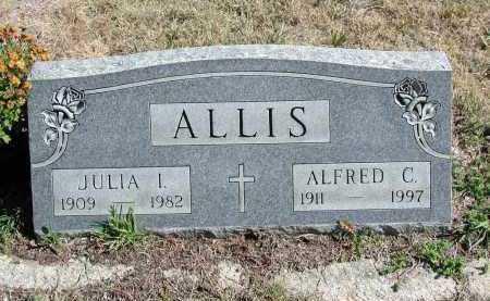 ALLIS, JULIA I. - El Paso County, Colorado | JULIA I. ALLIS - Colorado Gravestone Photos
