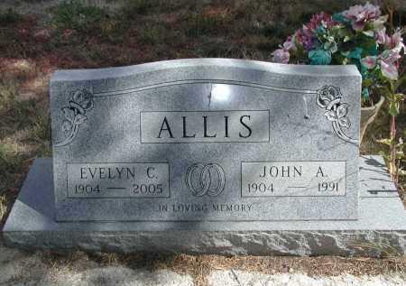 ALLIS, EVELYN C. - El Paso County, Colorado | EVELYN C. ALLIS - Colorado Gravestone Photos