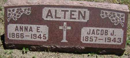 ALTEN, ANNA E - El Paso County, Colorado | ANNA E ALTEN - Colorado Gravestone Photos