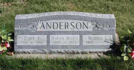 ANDERSON, MARION - El Paso County, Colorado   MARION ANDERSON - Colorado Gravestone Photos