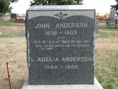 ANDERSON, JOHN - El Paso County, Colorado | JOHN ANDERSON - Colorado Gravestone Photos