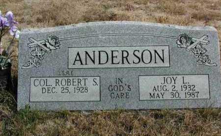 ANDERSON, JOY L. - El Paso County, Colorado | JOY L. ANDERSON - Colorado Gravestone Photos
