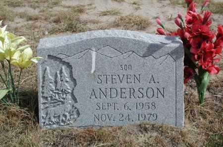 ANDERSON, STEVEN A. - El Paso County, Colorado   STEVEN A. ANDERSON - Colorado Gravestone Photos