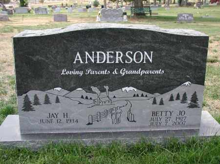 ANDERSRON, BETTY JO - El Paso County, Colorado | BETTY JO ANDERSRON - Colorado Gravestone Photos