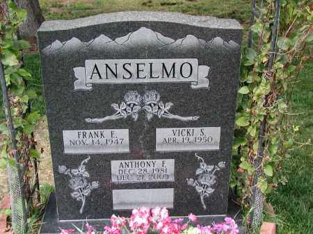 ANSELMO, ANTHONY F. - El Paso County, Colorado | ANTHONY F. ANSELMO - Colorado Gravestone Photos