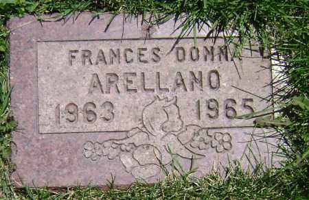 ARELLANO, FRANCES DONNA - El Paso County, Colorado | FRANCES DONNA ARELLANO - Colorado Gravestone Photos