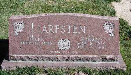 ARFSTEN, EDWARD - El Paso County, Colorado | EDWARD ARFSTEN - Colorado Gravestone Photos