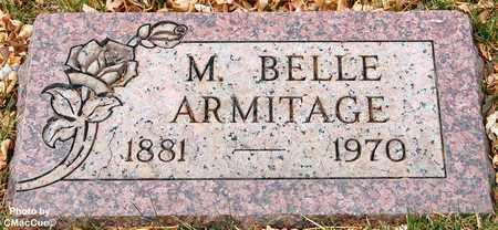 ARMITAGE, M. BELLE - El Paso County, Colorado | M. BELLE ARMITAGE - Colorado Gravestone Photos