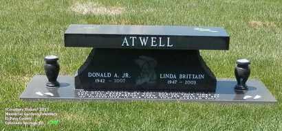 ATWELL, DONALD A. - El Paso County, Colorado | DONALD A. ATWELL - Colorado Gravestone Photos