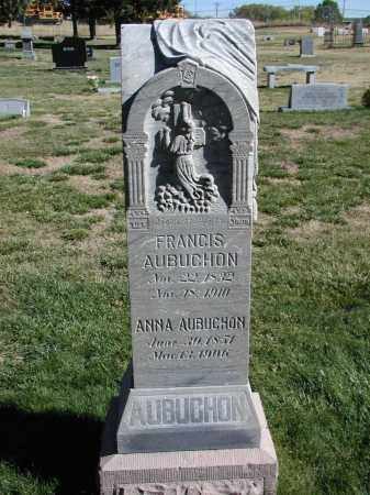 AUBUCHON, ANNA - El Paso County, Colorado | ANNA AUBUCHON - Colorado Gravestone Photos
