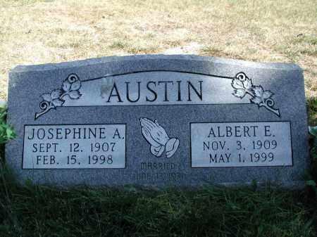 AUSTIN, JOSEPHINE A. - El Paso County, Colorado | JOSEPHINE A. AUSTIN - Colorado Gravestone Photos