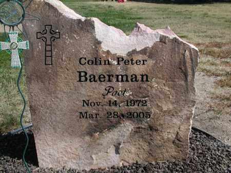 BAERMAN, COLIN P. - El Paso County, Colorado   COLIN P. BAERMAN - Colorado Gravestone Photos