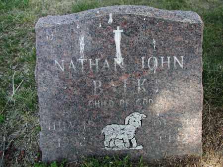 BALK, NATHAN J. - El Paso County, Colorado   NATHAN J. BALK - Colorado Gravestone Photos