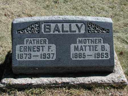 BALLY, ERNEST F. - El Paso County, Colorado | ERNEST F. BALLY - Colorado Gravestone Photos