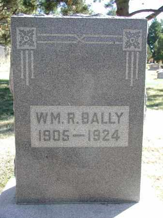 BALLY, WILLIAM R. - El Paso County, Colorado | WILLIAM R. BALLY - Colorado Gravestone Photos