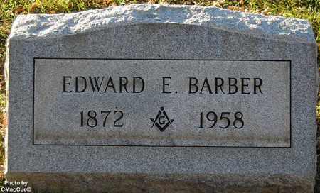 BARBER, EDWARD E. - El Paso County, Colorado | EDWARD E. BARBER - Colorado Gravestone Photos