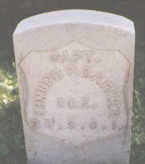 BARKER, EDMUND P. - El Paso County, Colorado | EDMUND P. BARKER - Colorado Gravestone Photos