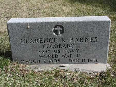 BARNES, CLARENCE R. - El Paso County, Colorado | CLARENCE R. BARNES - Colorado Gravestone Photos