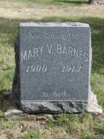BARNES, MARY V. - El Paso County, Colorado | MARY V. BARNES - Colorado Gravestone Photos