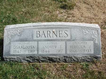BARNES, OSKALOOSA - El Paso County, Colorado | OSKALOOSA BARNES - Colorado Gravestone Photos