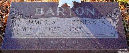 BARTON, GENEVA A. - El Paso County, Colorado | GENEVA A. BARTON - Colorado Gravestone Photos
