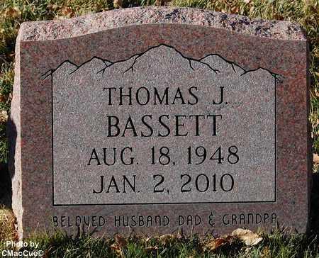 BASSETT, THOMAS J. - El Paso County, Colorado | THOMAS J. BASSETT - Colorado Gravestone Photos