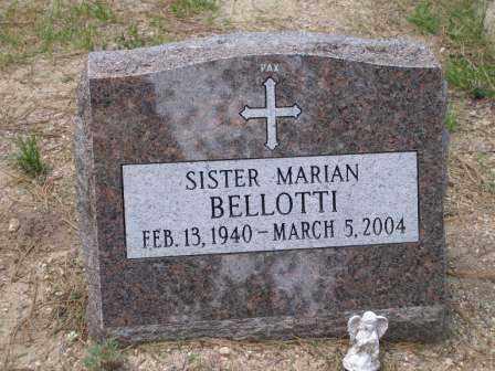 BELLOTTI, SR. MARIAN - El Paso County, Colorado | SR. MARIAN BELLOTTI - Colorado Gravestone Photos