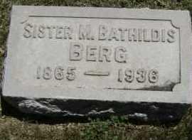 BERG, SISTER M. BATHILDIS - El Paso County, Colorado | SISTER M. BATHILDIS BERG - Colorado Gravestone Photos