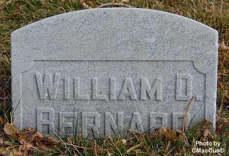 BERNARD, WILLIAM D. - El Paso County, Colorado | WILLIAM D. BERNARD - Colorado Gravestone Photos