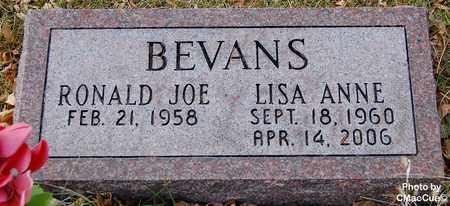 BEVANS, RONALD JOE - El Paso County, Colorado | RONALD JOE BEVANS - Colorado Gravestone Photos