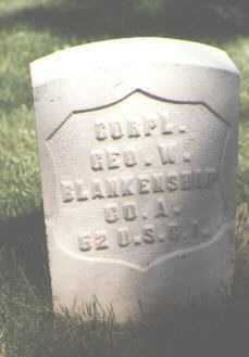 BLANKENSHIP, GEORGE W. - El Paso County, Colorado | GEORGE W. BLANKENSHIP - Colorado Gravestone Photos