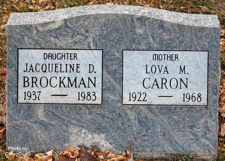 BROCKMAN, JACQUELINE D. - El Paso County, Colorado | JACQUELINE D. BROCKMAN - Colorado Gravestone Photos