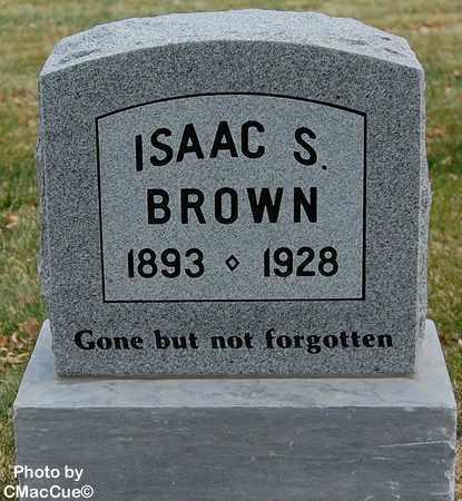 BROWN, ISAAC S. - El Paso County, Colorado | ISAAC S. BROWN - Colorado Gravestone Photos