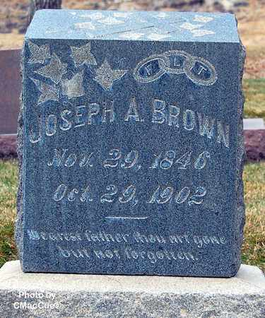 BROWN, JOSEPH A. - El Paso County, Colorado | JOSEPH A. BROWN - Colorado Gravestone Photos