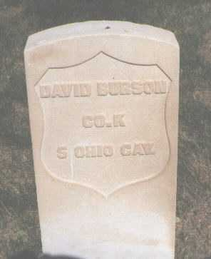 BURSON, DAVID - El Paso County, Colorado | DAVID BURSON - Colorado Gravestone Photos