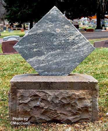 CAMPBELL, GEORGE - El Paso County, Colorado   GEORGE CAMPBELL - Colorado Gravestone Photos