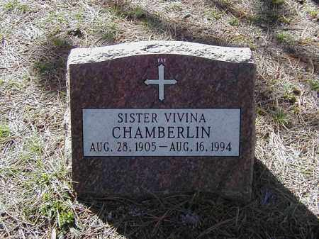 CHAMBERLIN, SR. VIVINA - El Paso County, Colorado | SR. VIVINA CHAMBERLIN - Colorado Gravestone Photos