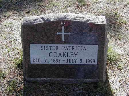 COAKLEY, SR. PATRICIA - El Paso County, Colorado | SR. PATRICIA COAKLEY - Colorado Gravestone Photos