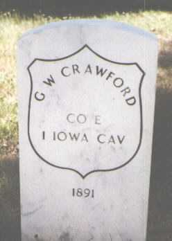 CRAWFORD, G. W. - El Paso County, Colorado | G. W. CRAWFORD - Colorado Gravestone Photos