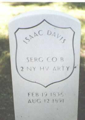 DAVIS, ISAAC - El Paso County, Colorado | ISAAC DAVIS - Colorado Gravestone Photos
