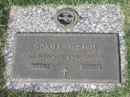 DAVIS, NORMA JEAN - El Paso County, Colorado | NORMA JEAN DAVIS - Colorado Gravestone Photos